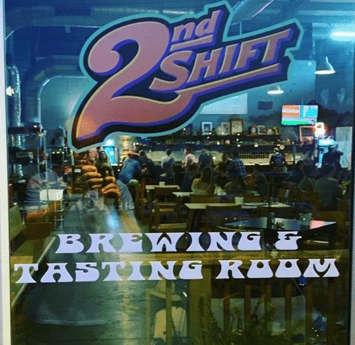 2nd Shift tasting Room