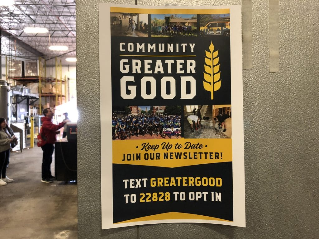 Community Beer Newsletter