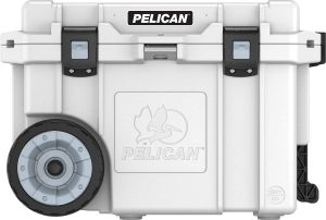 Beer in checked luggage Pelican Cooler Solution