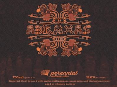 Barrel Aged Abraxas Perennial Artisan Ales