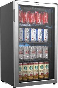 hOmeLabs Beverage Refrigerator