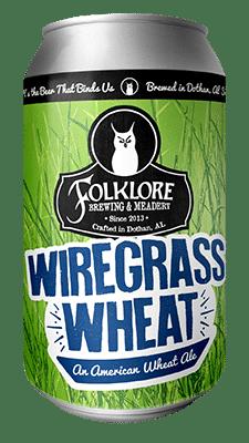 Wiregrass Wheat Folklore Brewing