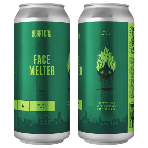 Face Melter Burnt City Brewing Chicago Best Beers