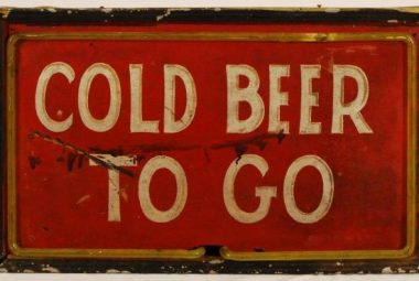 Cold Beer To Go Frame