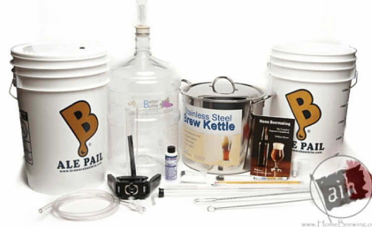 Brewer's Best Beast Equipment Kit with Plastic Carboy