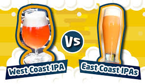 West Coast V. New England Ipa