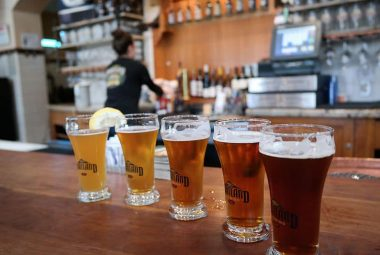Tasting At Portland Brewery