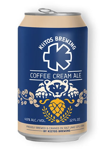 Coffee Cream Ale by Kiitos Brewing
