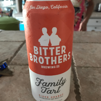 Family Tart by Bitter Brothers Brewing