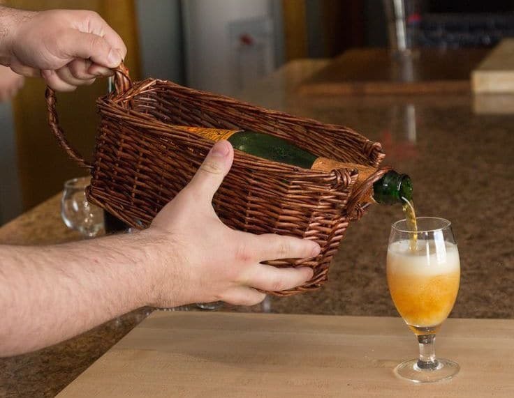 Lambic Beer Basket