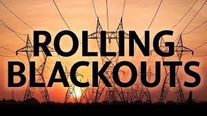 rolling blackouts power lines