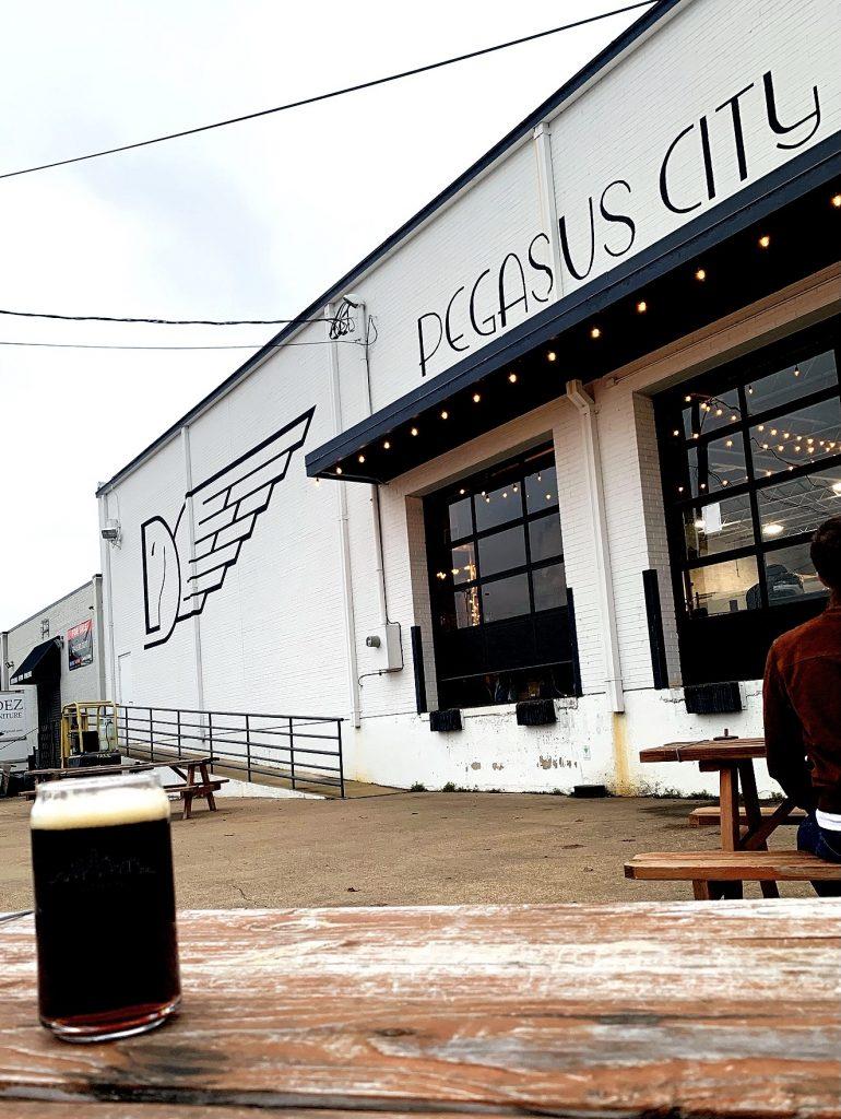 texikaner black lager pegasus city brewery