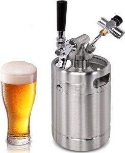 Pressurized Beer Mini Keg System