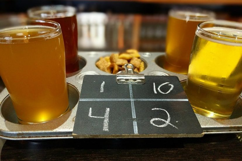 Saison Beer With Food