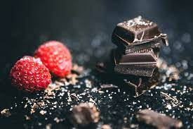 chocolate and red fruit