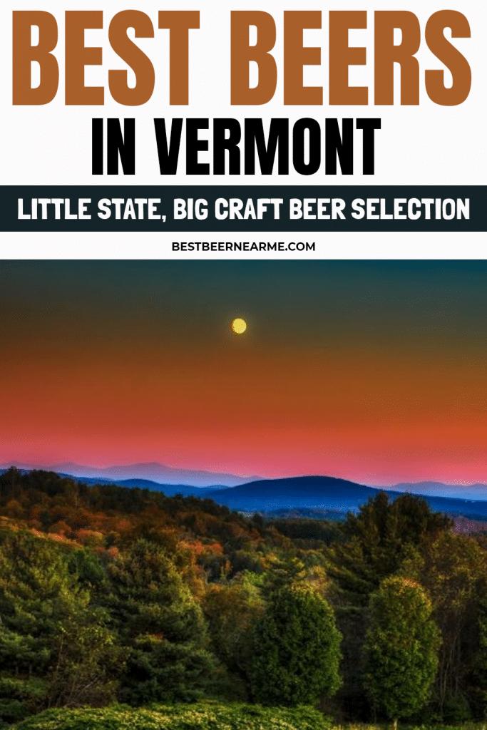Best Beers in Vermont