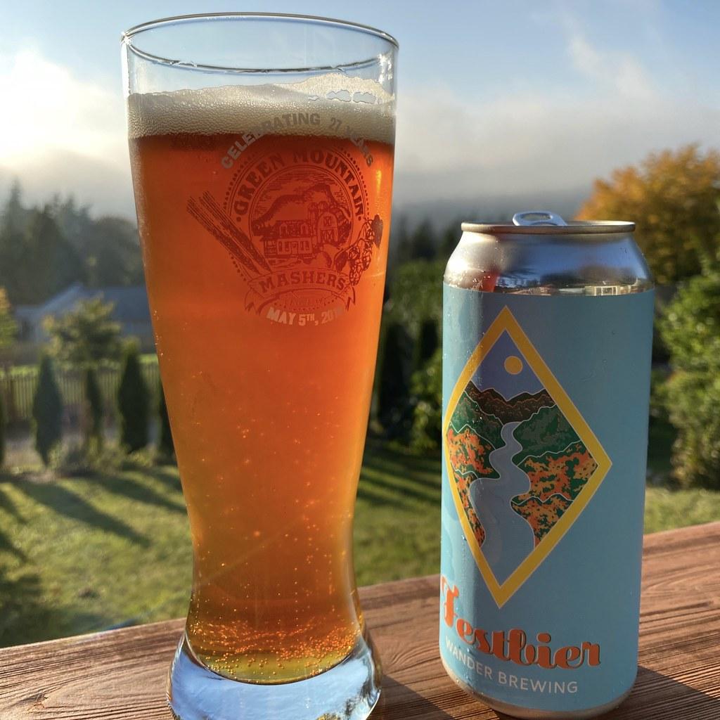 Marzen Beer in can