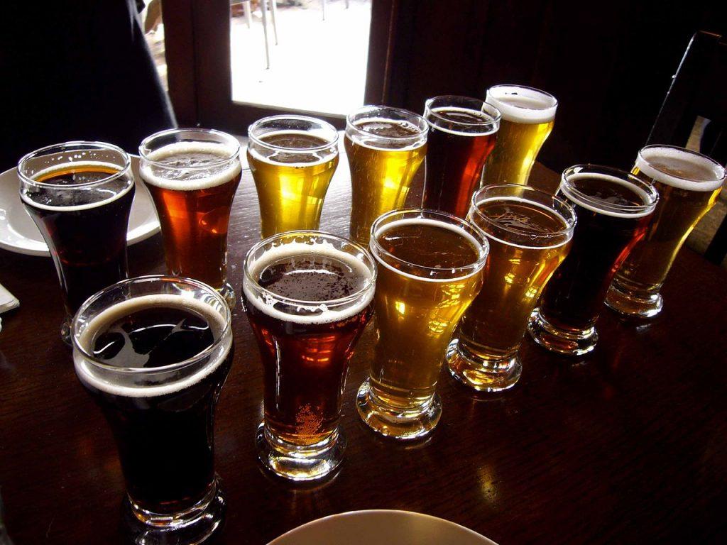 Pint Of Bitter Beers